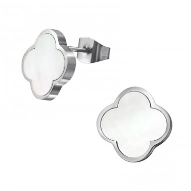Flower - 316L Surgical Grade Stainless Steel Steel Ear Studs A4S32636