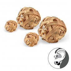 Knot - 316L Surgical Grade Stainless Steel Steel Ear Studs A4S34273