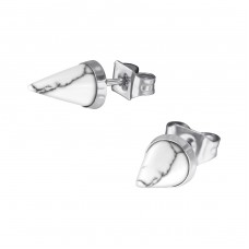 Cone - 316L Surgical Grade Stainless Steel Steel Ear Studs A4S34742