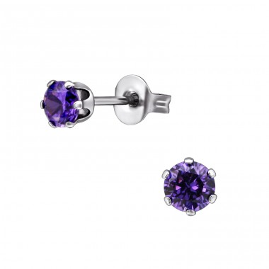 Tulip - 316L Surgical Grade Stainless Steel Steel Ear Studs A4S5837