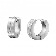Hoops - 316L Surgical Grade Stainless Steel Steel Earrings A4S1130