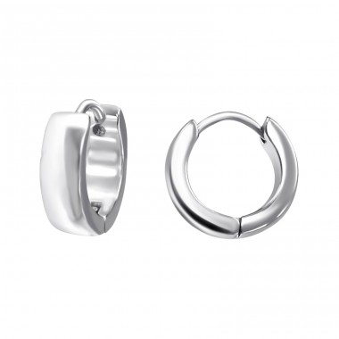 Hoops - 316L Surgical Grade Stainless Steel Steel Earrings A4S15972