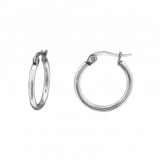 15mm - 316L Surgical Grade Stainless Steel Steel Earrings A4S32615