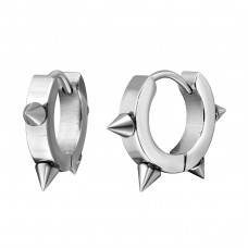 Thorn - 316L Surgical Grade Stainless Steel Steel Earrings A4S6687