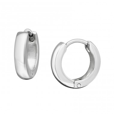 Hoops - 316L Surgical Grade Stainless Steel Steel Earrings A4S7761