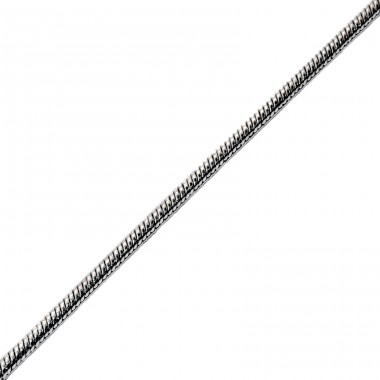 Cable - 316L Surgical Grade Stainless Steel Steel Necklaces A4S1333