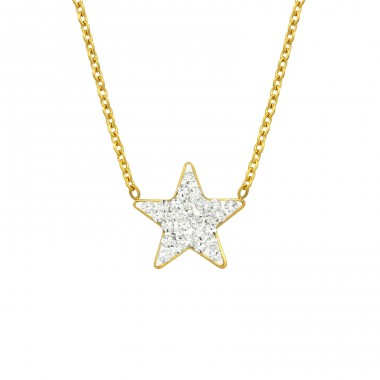 Star - 316L Surgical Grade Stainless Steel Steel Necklaces A4S14641