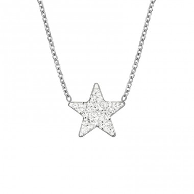 Star - 316L Surgical Grade Stainless Steel Steel Necklaces A4S14709
