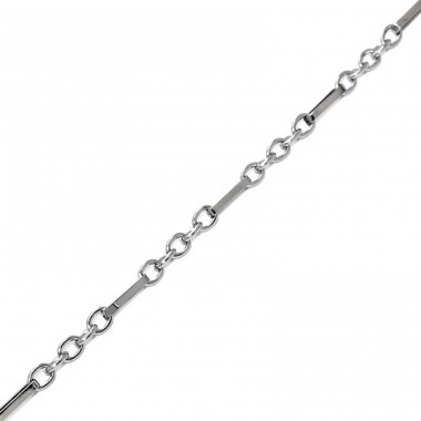 Bar - 316L Surgical Grade Stainless Steel Steel Necklaces A4S1859