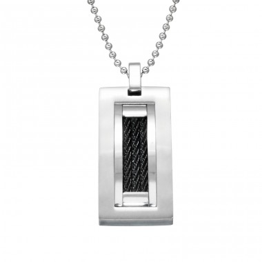 Tag - 316L Surgical Grade Stainless Steel Steel Necklaces A4S28409