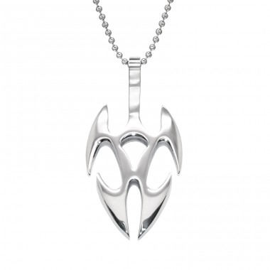Sword - 316L Surgical Grade Stainless Steel Steel Necklaces A4S28412