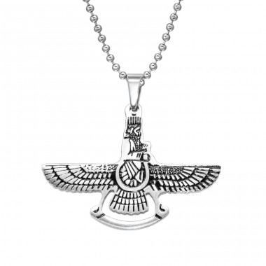 Eagle - 316L Surgical Grade Stainless Steel Steel Necklaces A4S28434
