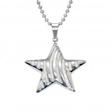 Star - 316L Surgical Grade Stainless Steel Steel Necklaces A4S28451