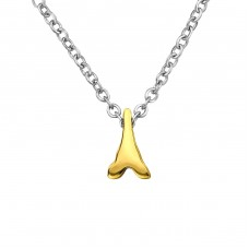 Eiffel Tower - 316L Surgical Grade Stainless Steel Steel Necklaces A4S30033