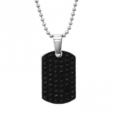 Pendant Tag - 316L Surgical Grade Stainless Steel Steel Necklaces A4S31622