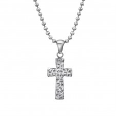 Cross - 316L Surgical Grade Stainless Steel Steel Necklaces A4S31623