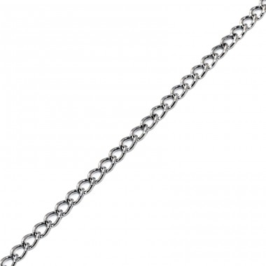 Curb - 316L Surgical Grade Stainless Steel Steel Necklaces A4S7102