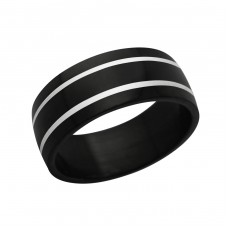 Band - 316L Surgical Grade Stainless Steel Steel Rings for Men A4S1219