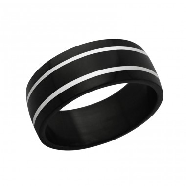 Band - 316L Surgical Grade Stainless Steel Steel Rings A4S1219