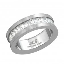 Band - 316L Surgical Grade Stainless Steel Steel Rings for Men A4S16671