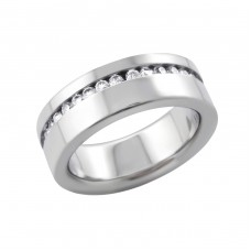 Band - 316L Surgical Grade Stainless Steel Steel Rings for Men A4S16674
