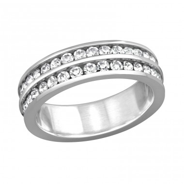 Band - 316L Surgical Grade Stainless Steel Steel Rings A4S16678