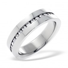 Band - 316L Surgical Grade Stainless Steel Steel Rings A4S16694