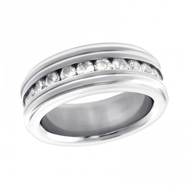 Band - 316L Surgical Grade Stainless Steel Steel Rings A4S16695