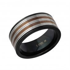 Band - 316L Surgical Grade Stainless Steel Steel Rings A4S17020