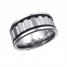 Band - 316L Surgical Grade Stainless Steel Steel Rings A4S17023