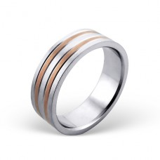 Band - 316L Surgical Grade Stainless Steel Steel Rings A4S18522