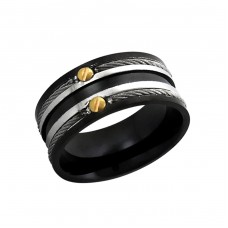 Band - 316L Surgical Grade Stainless Steel Steel Rings A4S1924