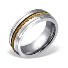 Band - 316L Surgical Grade Stainless Steel Steel Rings A4S22788