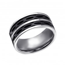 Band - 316L Surgical Grade Stainless Steel Steel Rings A4S22793