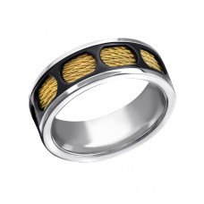 Band - 316L Surgical Grade Stainless Steel Steel Rings A4S22794