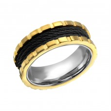 Band - 316L Surgical Grade Stainless Steel Steel Rings A4S22802