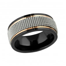 Band - 316L Surgical Grade Stainless Steel Steel Rings A4S22803