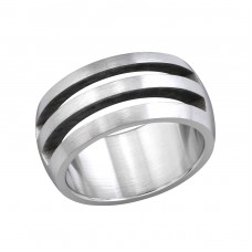Band - 316L Surgical Grade Stainless Steel Steel Rings A4S254