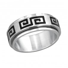 Band - 316L Surgical Grade Stainless Steel Steel Rings A4S255