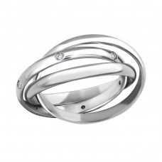 Band - 316L Surgical Grade Stainless Steel Steel Rings A4S259