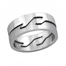 Band - 316L Surgical Grade Stainless Steel Steel Rings A4S262