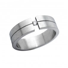 Band - 316L Surgical Grade Stainless Steel Steel Rings for Men A4S264
