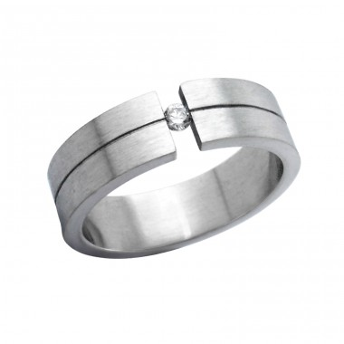 Band - 316L Surgical Grade Stainless Steel Steel Rings A4S264