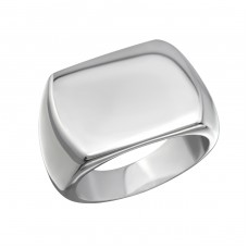 Band - 316L Surgical Grade Stainless Steel Steel Rings A4S27989