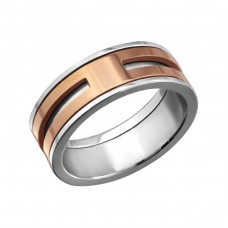 Band - 316L Surgical Grade Stainless Steel Steel Rings for Men A4S27990