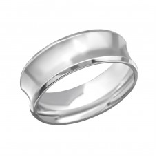 Band - 316L Surgical Grade Stainless Steel Steel Rings for Men A4S28239