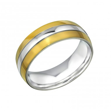 Band - 316L Surgical Grade Stainless Steel Steel Rings A4S31852