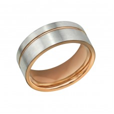 Line - 316L Surgical Grade Stainless Steel Steel Rings for Men A4S32607