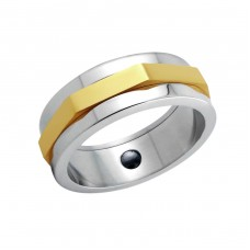 Band - 316L Surgical Grade Stainless Steel Steel Rings A4S5095