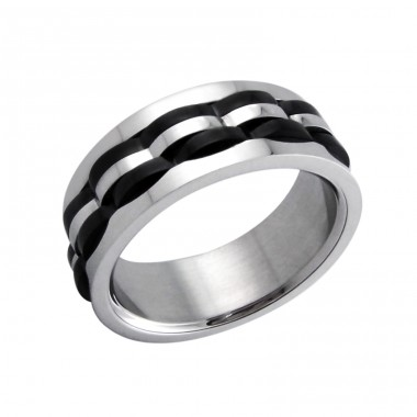 Band - 316L Surgical Grade Stainless Steel Steel Rings A4S5099